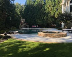 Pool & Fire pit
